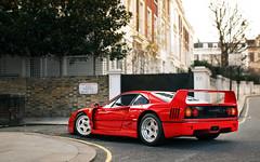 F40 (Alex Penfold) Tags: red london cars alex car super ferrari autos owen hr supercar supercars f40 penfold 2016