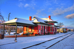 Snowy Cookeville, TN Train Depot (J.L. Ramsaur Photography) Tags: sky history nature architecture rural outdoors photography photo nikon tennessee engineering bluesky pic oldbuildings historic photograph depot americana thesouth hdr cumberlandplateau cookeville traindepot ruralamerica engineeringasart beautifulsky 2016 historicbuilding beautifuldecay smalltownamerica photomatix putnamcounty deepbluesky cookevilletn bracketed skyabove middletennessee ruraltennessee hdrphotomatix ofandbyengineers ruralview fadingamerica hdrimaging vanishingamerica cookevilletennessee oldandbeautiful ibeauty historyisallaroundus hdraddicted allskyandclouds tennesseephotographer structuresofthesouth southernphotography screamofthephotographer hdrvillage engineeringisart jlrphotography photographyforgod worldhdr tennesseehdr pagodastylearchitecture d7200 cookevilletraindepot hdrrighthererightnow engineerswithcameras hdrworlds god'sartwork nature'spaintbrush jlramsaurphotography nikond7200 cookevegas cookevilletntraindepot americanrelics it'saretroworldafterall