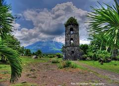Cagsawa Bell Tower (Rex Montalban Photography) Tags: philippines mayonvolcano cagsawabelltower