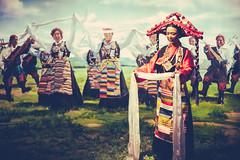 In Lhasa (Elmar Bajora Photography) Tags: china people art heritage museum ancient asia asien tibet tibetan remote himalaya centralasia lhasa topoftheworld tar lasa hochland hochebene tibetplateau tibetanmuseum   culturalgebirge autonomeregiontibet tibetanautonomusregion