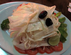 Chonta or Palm Heart Salad (earthdrifting) Tags: perú exoticfood chonta