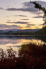 Ullswater 2015 - 6395.jpg (DavidRBadger) Tags: autumn sky lake mountains reflection nature clouds rural landscape evening countryside dusk lakedistrict calm lakeside hills cumbria vista lowsun ullswater pooleybridge