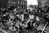 Organised Chaos (jtatodd) Tags: bicycles amsterdam mirrorlesscamera mirrorless sonya7 sony 10faves cycles bw monochrome city busy chaos flowermarket europe travelphotography travel ilce7 culture 20faves amateur sonyfe2870mmf3556oss fullframesensor