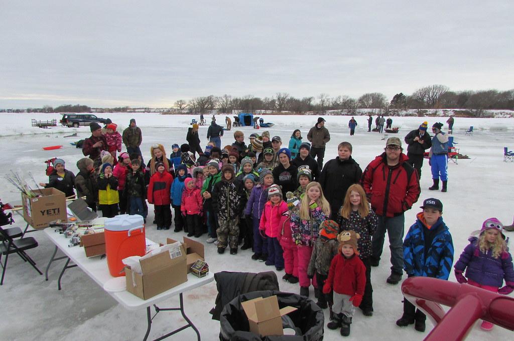 Mobridge ice fishing tournament prizes for teens