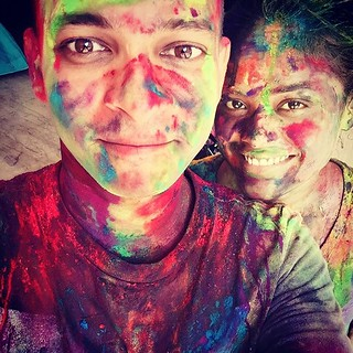 Happy HOLI #India #festival #colors #colerful #holidays #Holi #Mumbai #festivalofcolors