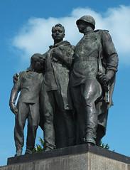 Slavin War memorial, Bratislava (radio53) Tags: monument architecture memorial war outdoor wwii soviet slovakia russian 1945 liberation bratislava stalin czechoslovakia colum slovak stalinist