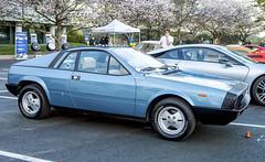 Lancia Beta Montecarlo (Thumpr455) Tags: auto blue sc car march italian nikon automobile southcarolina beta montecarlo scorpion 1970s greenville sportscar lancia d800 pininfarina 2016 midengine worldcars afnikkor3570mmf28d upstatecarscoffee