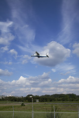 A SMALL AIRPORT, SOME PARKS AND CLOUDS - XXV (Jussi Salmiakkinen (JUNJI SUDA)) Tags: park wood summer sky cloud japan airplane landscape tokyo airport cityscape aircraft     chofu