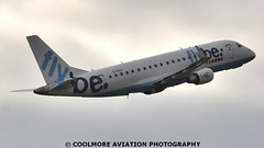 2014_10_25_MAN0115 (COOLMORE PHOTOGRAPHY) Tags: man manchester airport aircraft airliner airliners manchesterairport embraer egcc flybe embraer175 e175 gfbji