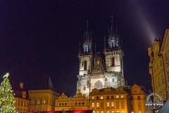 Prague (gamebit) Tags: christmas night europe republic czech prague market eastern