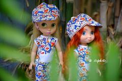 Doraemon Survivor (noiphoto) Tags: garden toy doll disney disneyworld merida rapunzel doreamon dolloutfit xt10 disneyanimators