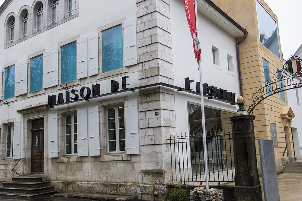 Entrada da Maison de l'absinthe