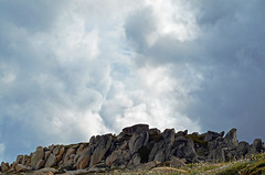 Ominous clouds over Kosciuszko National Park (LukeHennessy) Tags: park snow mountains clouds nikon rocks snowy ominous luke australia national nsw kosciuszko hennessy snowies d7000