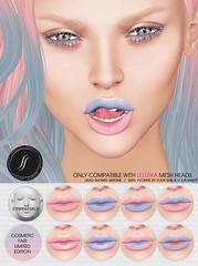 Cosmetic Fair (Shakeup!) Tags: secondlife serenity pantone rosequartz coloroftheyear shakeup meshhead applier lelutka cosmeticfair
