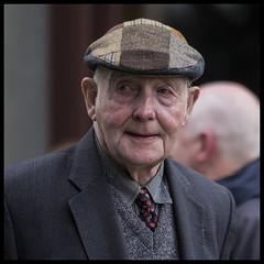 A modern take on the old flat cap (Frank Fullard) Tags: old ireland portrait irish candid cap mayo patchwork gentleman tweed flatcap fullard oldgentleman frankfullard