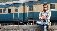 Raju at Jessore Railway Station (RiddhoRaju) Tags: morning travel winter friends friend buddy journey raju wintermorning jessore jessorerailwaystation jessorebangladesh rajudey riddhoraju riddhorajudey jessorekhulnabangladesh jessorecity rajuriddhodey wwwriddhorajucom httpriddhorajucom