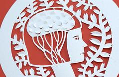 Papercutting (Elsita (Elsa Mora)) Tags: art silhouette illustration paper paperart design 3d pattern handmade drawing form fiber papercraft papersculpture papercutout elsita xactoknife papercutting 3dimensionalart elsamora 3dimensionalpaper