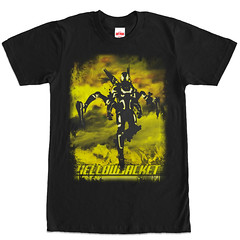 Ant Man Yellow Jacket Floater (Marvel T Shirts) Tags: yellowjacket floater antman darrencross