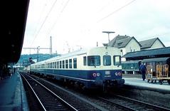 624 606  Bielefeld  12.09.84 (w. + h. brutzer) Tags: bielefeld eisenbahn eisenbahnen train trains deutschland germany railway triebwagen triebzug triebzüge zug db 624 634 vt webru analog nikon
