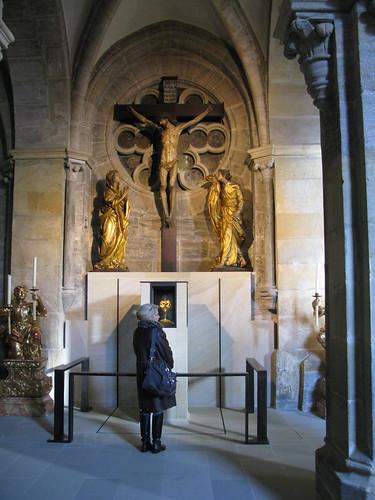 2008 12 26 Germania - Baviera - Bamberg - Dom - Nagelkapelle Cappella del chiodo_0163