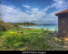 Photo accepted by Stockimo (vanya.bovajo) Tags: travel sea vacation house holiday seascape green nature water landscape island flora paradise natural reserve nobody clean vegetation seashore var iphone mediterranian porquerolles iphonegraphy stockimo