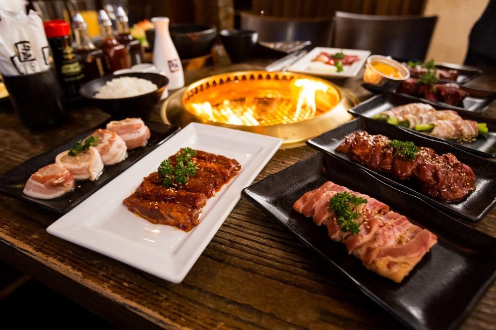 Ăn thỏa thích tại Gyu Kaku