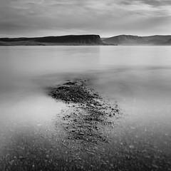 Disappearing (an:na) Tags: longexposure bw film analog mediumformat landscape iceland islandia westfjords acros100 hasselblad503cx nd1000 exif4film opticfilm120