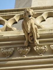 20150310 Rhne Lyon - Cathdrale Saint Jean - Gargouilles (5) (anhndee) Tags: france frankreich cathedral lyon rhne gargoyle cathdrale gargouille cathedrale rhonealpes gargouilles