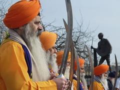 Shri Guru Ravidass Ji Jayanti Parade Leicester 2016 024 (kiranparmar1) Tags: statue ji indian leicester parade gandhi sikhs guru shri 2016 jayanti belgraveroad ravidass