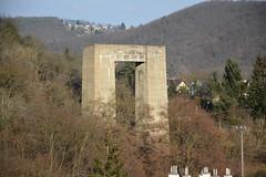 Pier of never finished Bridge (kindl_jiri) Tags: pier highway brno unfinished hitlers prehrada pilir hitlerovadalnice