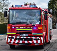 NK07NKE (firepicx) Tags: rescue fire northumberland service rothbury nk07nke n12p1