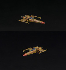 Hound's Tooth Z-95 (Jay Adan) Tags: game miniatures xwing custom repaint ffg