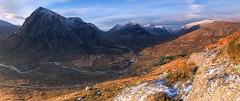A' Ghàidhealtachd (J McSporran) Tags: panorama landscape scotland highlands glencoe westhighlands buachailleetivebeag buachailleetivemor bideannambian achailleach