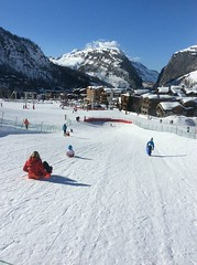Savonettes Luge (Crystal Ski) Tags: family winter sun ski france alps sunshine shine child crystal d young sunny 15 val alpine sledding 16 savoie sled luge disere toboggan sledge sledging isere tarentaise 2016 2015