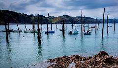 Gwin Zegal (Un regard en photo - Pierre Photos) Tags: blue mer port see harbor aqua dynamic bretagne breizh armor britanny range hdr piloti hight gwin ctes plouha darmor zegal
