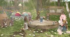 Tea with the besties (roxi firanelli) Tags: truth heart coco fantasy secondlife aphorism ionic treschic littlebranch vco keis wereclosed bauhausmovement applefall hpmd fameshed thefantasycollective shinyshabby lovestodecorate gachaguardians