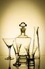 Iluminação / Still Life Objetos Translúcidos (augustofcn) Tags: luz photo fotografia copos amarela garrafas transparentes vidros translucidos augustocruz coorporaçãoins