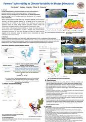 Royal University of Bhutan: Farmers' Vulnerability to Climate Variability in Bhutan (Himalaya) (iied.org) Tags: bhutan climatechange adaptation cba iied communitybasedadaptation cba10