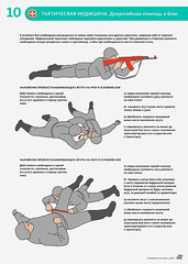 First aid in battle (infostep_infostep) Tags: illustration victim health informationdesign infographics firstaid savelives tacticalmedicine infostep