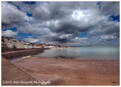 028 Dawlish 05.04.16 (Alan Howarth Photography) Tags: sea sky copyright seascape beach clouds canon sand harbour devon seafront dawlish 2016 50d alanhowarthphotography