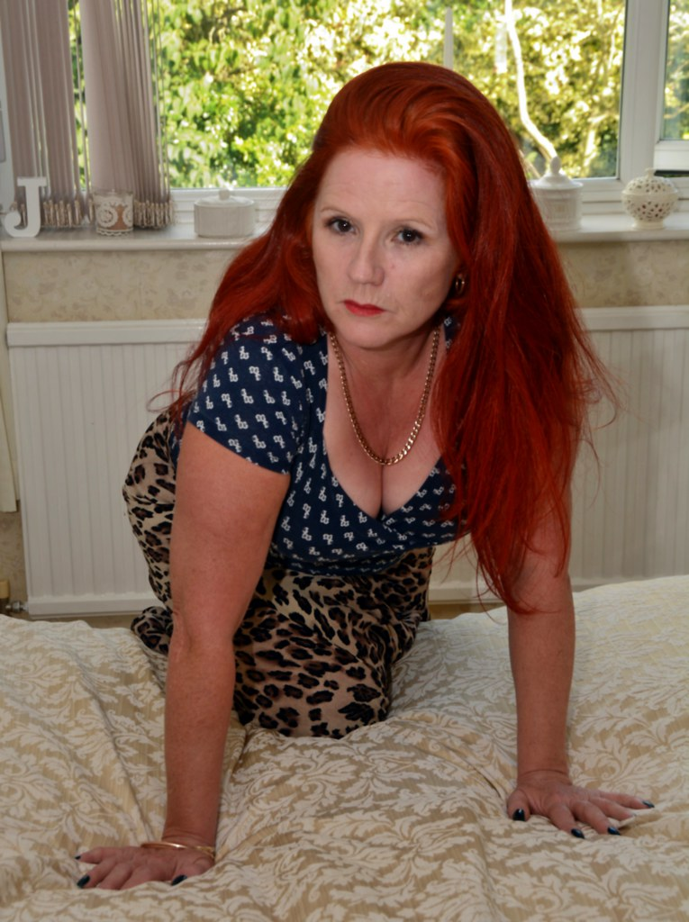 Redhead mature hot wife