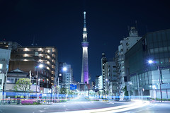 DSC00580 (Zengame) Tags: tower japan architecture night zeiss tokyo sony illumination landmark illuminated jp   rx     skytree rx1   tokyoskytree  rx1r rx1rm2 night rx1rmark2 miyabi