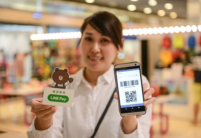 【圖四】LINE Pay擴展使用情境,讓消費者在實體商家也能享受方便、快速的購物體驗