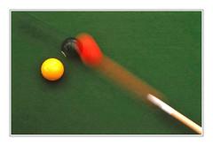 Coup de boule -  Headbutt (diaph76) Tags: game speed carpet tapis bowls billard boules jeu vitesse
