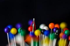 ago e spilli (pierluigi.carrano) Tags: macro pins needle ago spilli oneofthesethings macromondays