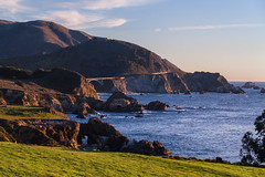 Pacific coast (craighamnett) Tags: sea america cliffs pch coastline