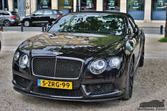 Bentley Continental Convertible (Guillaume Carr) Tags: place bordeaux continental convertible bentley 2016 tourny