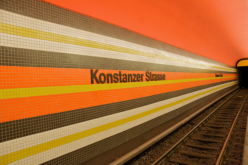 Architecture U-Bahn Konstanzer Strasse