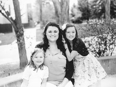 Mother and Daughters (melody_hoover) Tags: portrait people blackandwhite film outdoors blackwhite nikon joy naturallight carsoncity bwfp