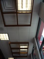 Squares in the air - Arby's, Fields Ertel Rd, Cincinnati, OH (30) (Ryan busman_49) Tags: new ohio food restaurant squares cincinnati ceiling shape arbys rebuilt renovated